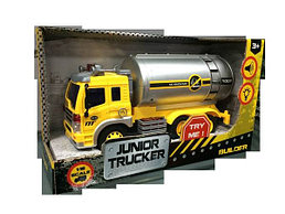Инерционная машина Junior Tracker - Нефтевоз, 1:16