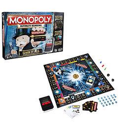 Monopoly B6677 Монополия с банковскими картами Банк без границ