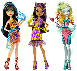 """Monster High """"Танцующие всю ночь"""" """"Буникальные танцы"""" Куклы в ассортименте"""