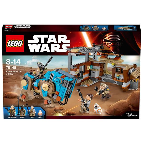 LEGO Игрушка Звездные войны Столкновение на Джакку