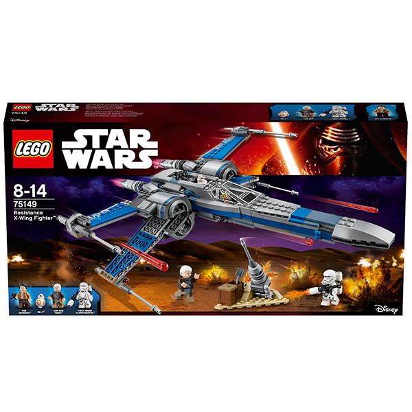 LEGO Игрушка Звездные войны Истребитель Сопротивления типа Икс