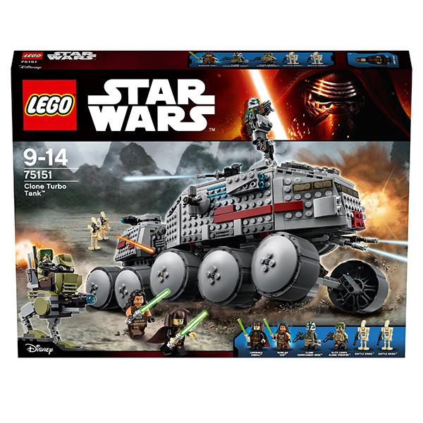 LEGO Игрушка Звездные войны Турботанк Клонов