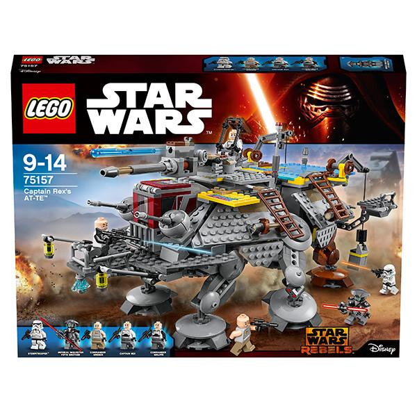 LEGO Игрушка Звездные войны Шагающий штурмовой вездеход AT-TE капитана Рекса
