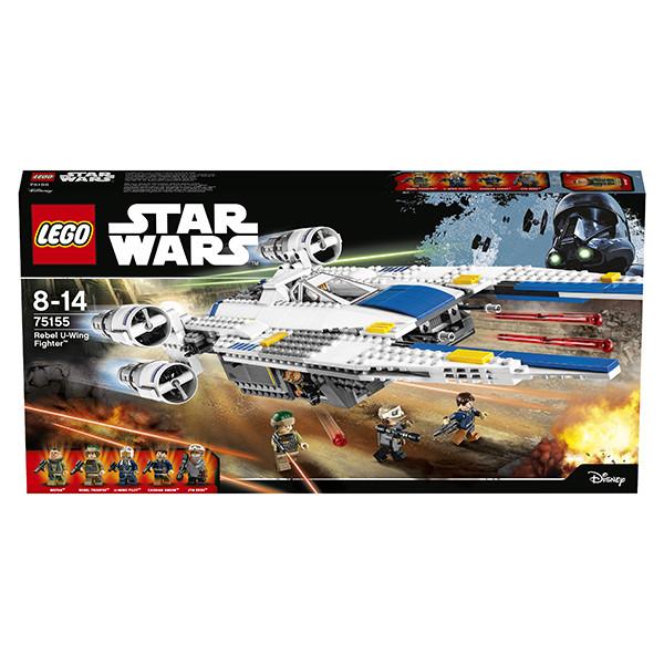 LEGO Игрушка Звездные войны Истребитель Повстанцев U-Wing