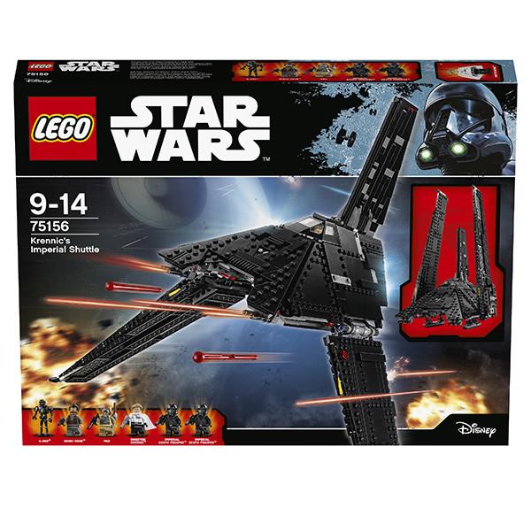 LEGO Игрушка Звездные войны Имперский шаттл Кренника