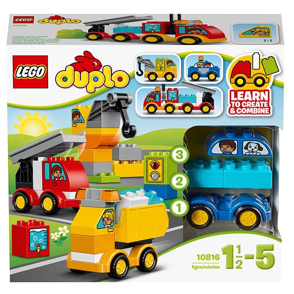 LEGO Дупло Мои первые машинки