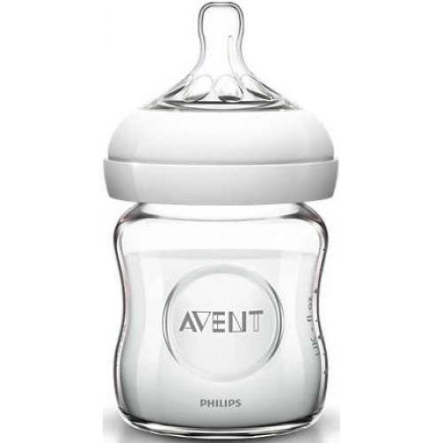 Бутылочка Avent для кормления стеклянная Natural 120мл