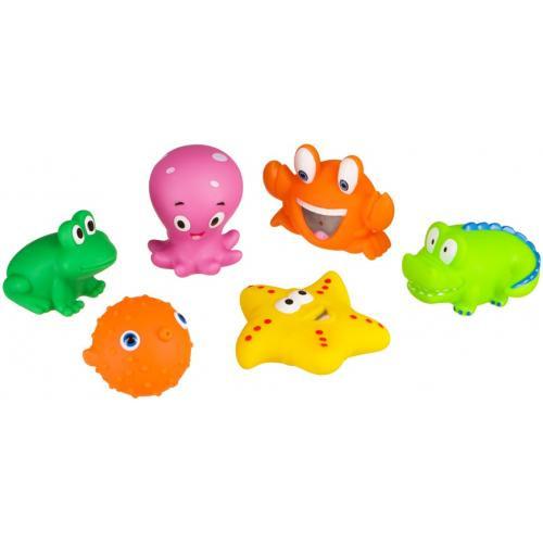 Набор ПВХ-игрушек Happy Baby для купания Water Fun