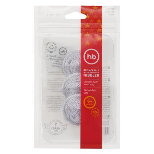 Сменные сетки для ниблера Happy Baby REPLACEABLE MESH BAGS FOR NIBBLER