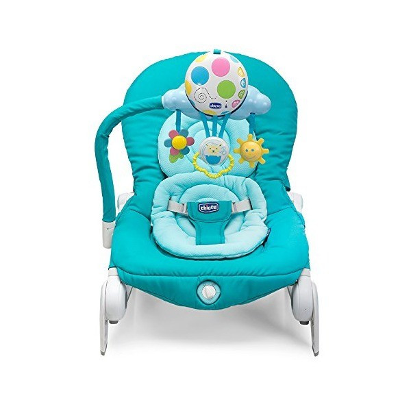 Chicco: Кресло-качалка Balloon Turquoise гол.