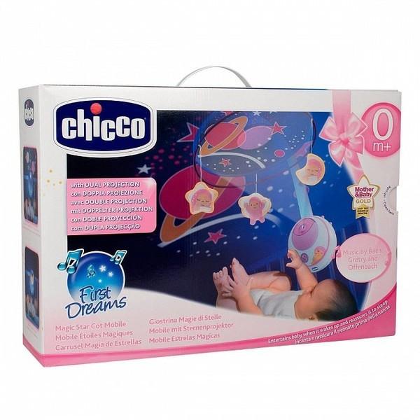 """Chicco: Мобиле """"Магические звезды"""" роз."""
