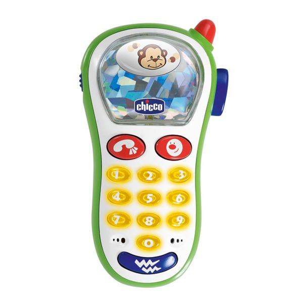 Chicco: Игрушка развивающая телефон 6м+