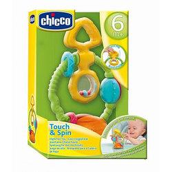 Chicco: Погремушка Touch&Spin 6м+