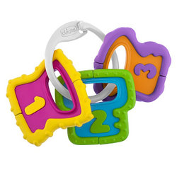 Chicco: Погремушка Easy Grasp Ключи 3м+