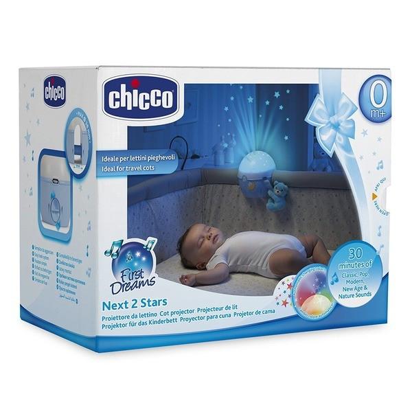 Chicco: Ночник-проектор Next 2 Stars гол.