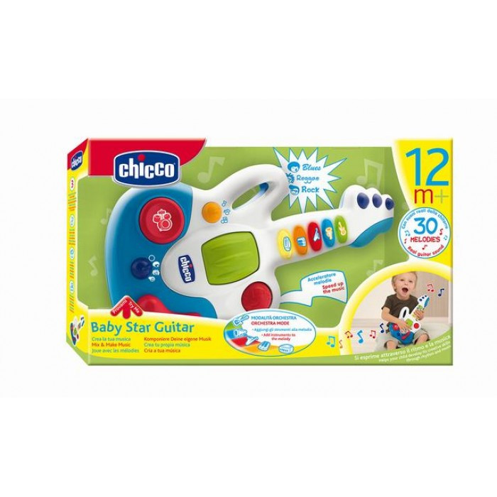 Chicco: Музыкальная игрушка Гитара 12м+