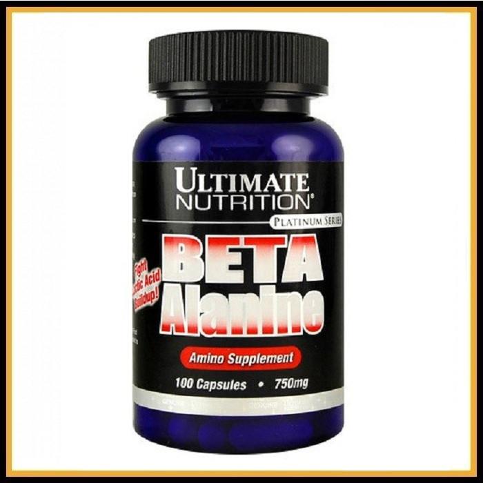 ULT. Beta Alanine (750 mg) 100 caps