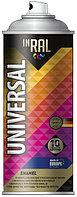 Краска Аэрозоль универс-05 черный мат RAL 9011 400 мл INRAL