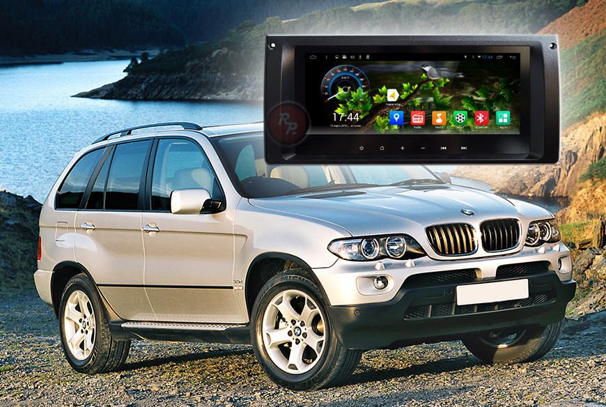 Штатые головные устройства BMW E53 E39 E38 Redpower Android