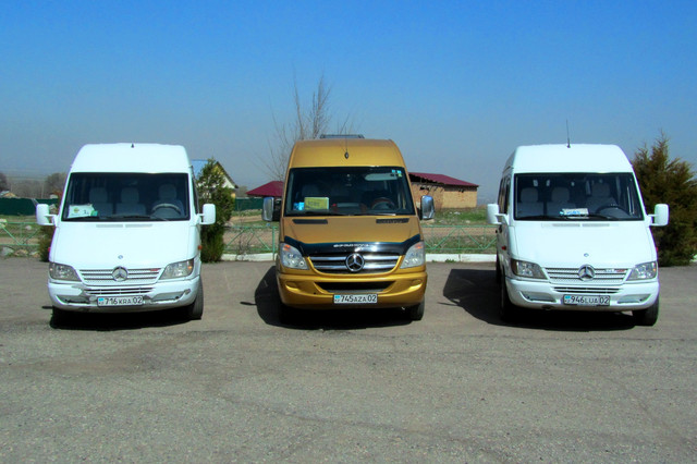 Минивэны и микроавтобусы для различных мероприятий