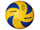 Мяч волейбольный Mikasa MVA200, реплика, фото 3