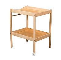 Столик для пеленания Combelle ALICE (дерево) 2 колеса Natiral / Натуральный 100