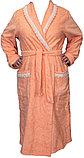 Махровый женский банный халат. Россия, фото 3
