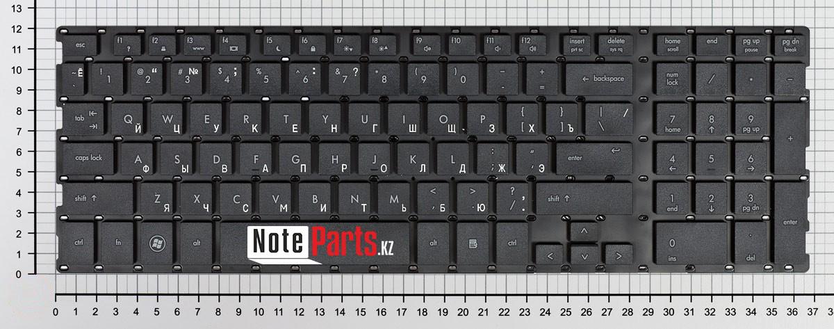 Клавиатура для ноутбука HP ProBook 4510s / 4710s / 4750s без рамки