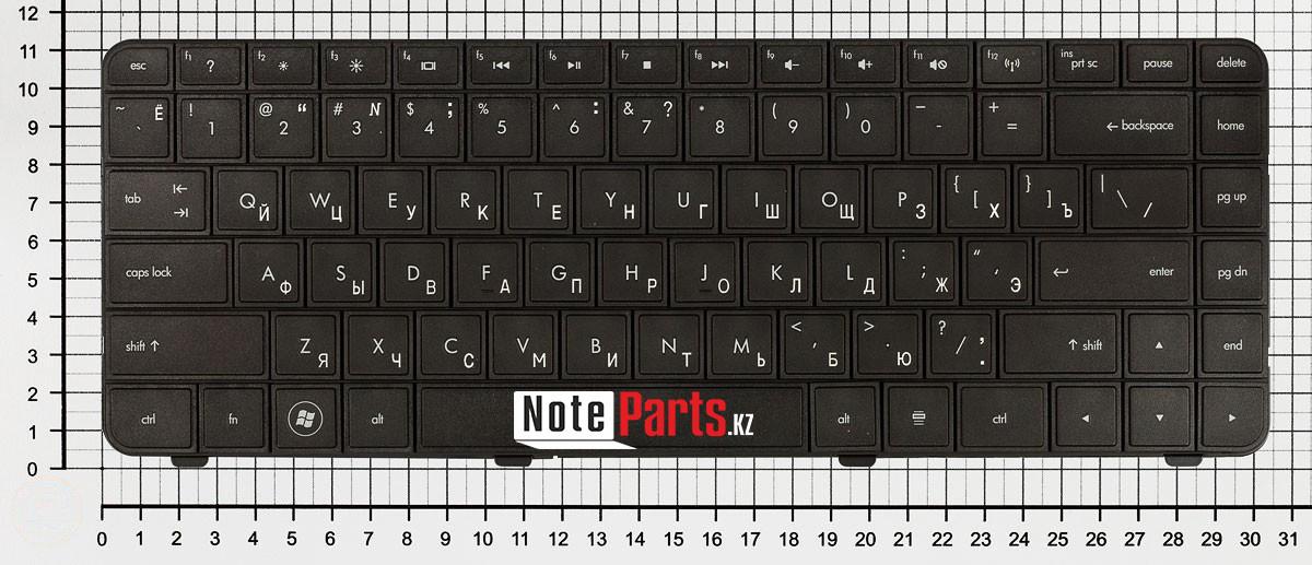 Клавиатура для ноутбука HP Compaq Presario CQ42 / G42  ENG