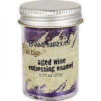 Эмаль для эмбоссинга Stampendous Aged Wine