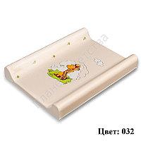 Пеленальная доска BER BER  DINO 80 с фиксатором color 032 (50*9*80 см)