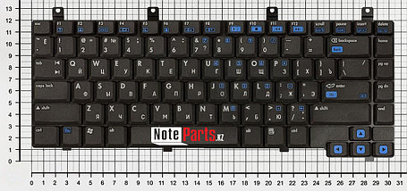 Клавиатура для ноутбука HP Pavilion dv4000 / Compaq Presario V4000 / V4400, фото 2