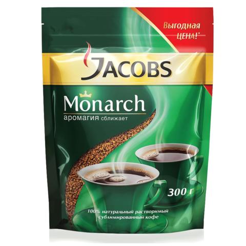 КОФЕ РАСТВОРИМЫЙ JACOBS MONARCH, 300гр.
