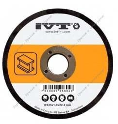 Диск отрезной 125*1.0 мм (IVT)