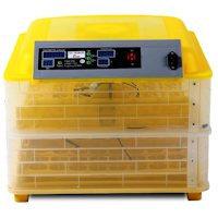 """Автоматический инкубатор на 96 яиц с термометром, влагомером и автопереворотом """"HHD 96"""""""