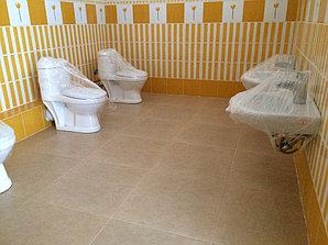 Сантехнические работы, детский сад микрорайон Баганашыл 15