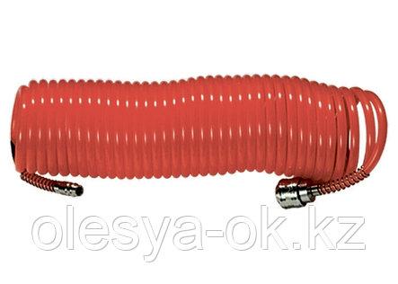 Шланг спиральный воздушный, 5 м, с быстросъемными соединениями// MATRIX, фото 2