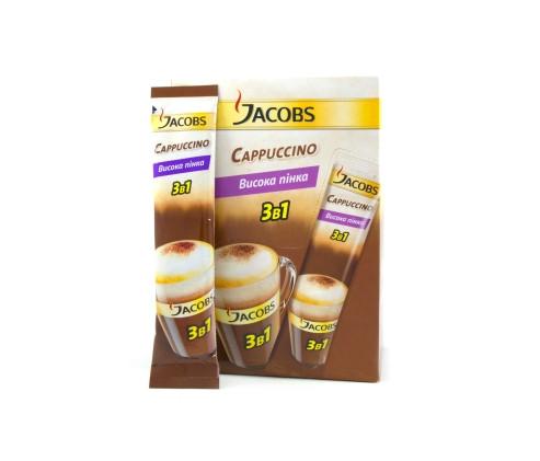 КОФЕ РАСТВОРИМЫЙ JACOBS MONARCH CAPUCCINOSE, 21 пакетик по 12.5гр