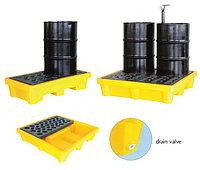 Поддон - контейнер 250 л на 4 бочки для ЛРТЖ (Код: SJ-100-006)