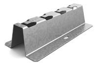 Напольно-настенный держатель 100 мм