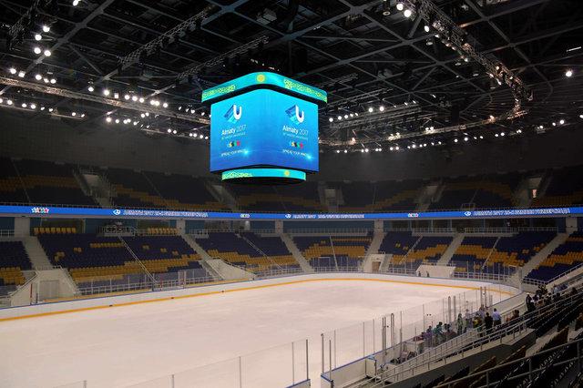 "Продукция LinkBasic на ""Алматы Арена"" 1"