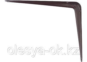 Кронштейн 75х100 мм, коричневый. СИБРТЕХ, фото 2