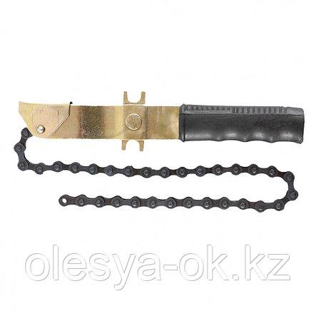 Ключ-съемник масляного фильтра цепной. SPARTA, фото 2
