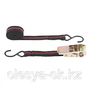 Ремень багажный с крюками, 5 м, храповой механизм Automatic. SPARTA, фото 2