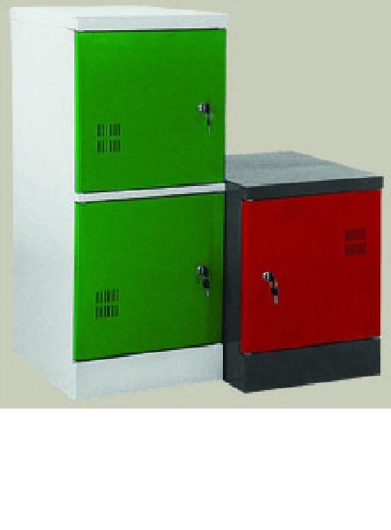 Шкаф  металлический односекционный
