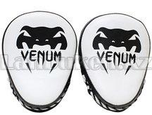 Лапы для бокса Venum (черно-белые)