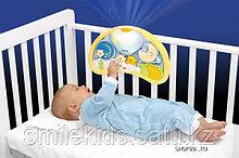 """Ночной музыкальный светильник """"Мишки на воздушном шаре"""""""