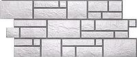 Фасадные панели Дёке Белый 946x445 мм Коллекция BURG