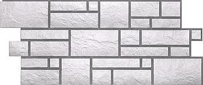 Фасадные панели BURG Дёке Белый 946x445 мм (0,42 м2)