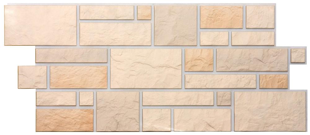 Фасадные панели BURG Дёке Льняной 946x445 мм